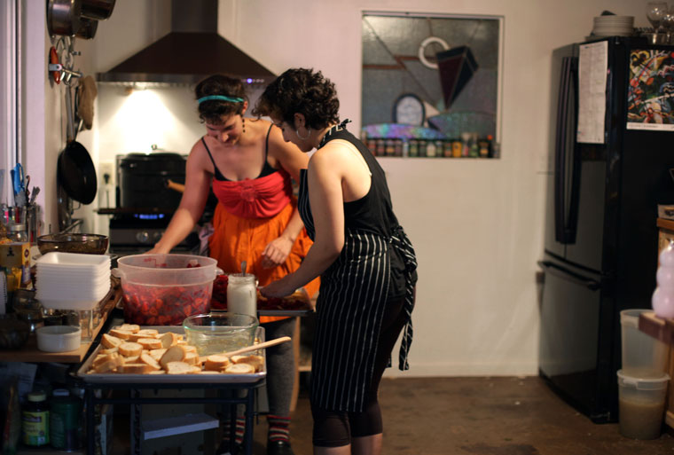 Sisters in the Kitchen