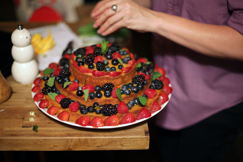 One of many fabulous desserts